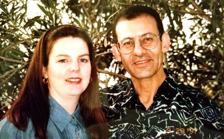 Raouf and Carol 97